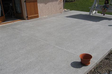 Faire Une Terrasse A Moindre Cout 4108 by La Chape De B 233 Ton Pour Une Terrasse