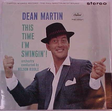 swing dean martin dean martin this time i m swingin vinyl lp album at