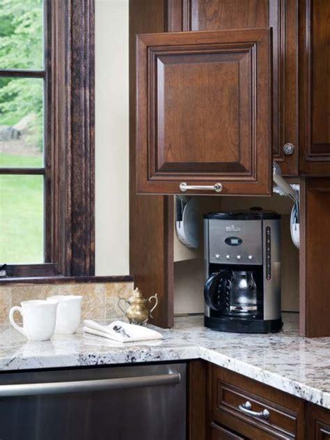 hide coffeemaker ideas pictures remodel  decor