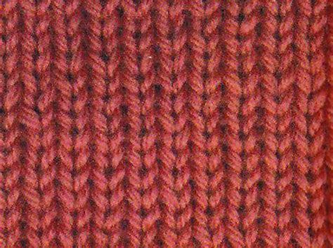stockinette stitch knit purl pinterest
