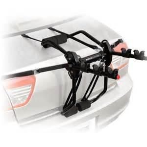 reese carry power axis 3 trunk mount bike rack 3 bikes