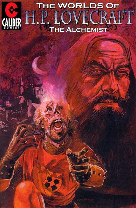 of the realm the alchemist s curse books h p lovecraft 1 the alchemist caliber comics h p