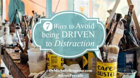 7 Ways To Stop Being A Pleaser by Seven Ways To Avoid Being Driven To Distraction Dr