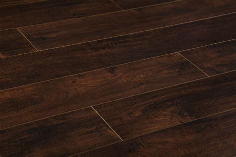 dark chocolate brown laminate flooring