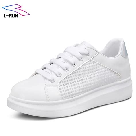 comfortable white sneakers summer style 2016 casual shoes pu leather women shoes