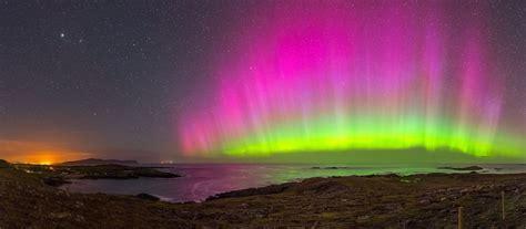 malin head northern lights the aurora borealis in ireland making the sky sing photos