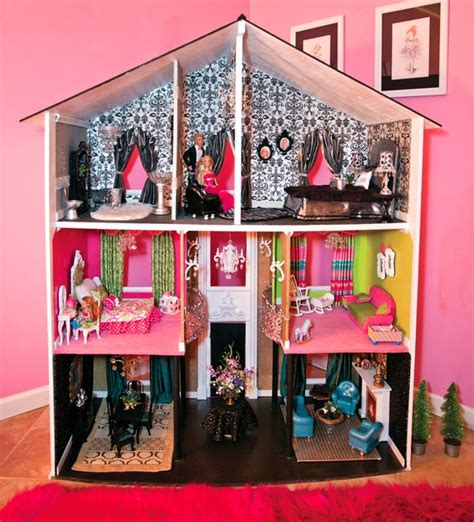 doll house com diy barbie furniture and diy barbie house ideas creative crafts