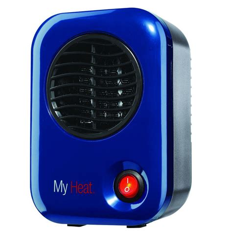 is my in heat lasko my heat 200 watt personal ceramic portable heater blue 102 the home depot