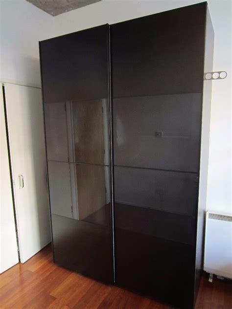 Ikea Pax Black Brown Wardrobe - ikea pax wardrobe black brown 150x66x236 cm in