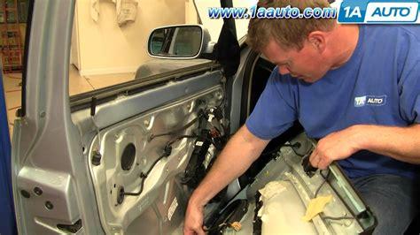 how to remove install front door panel 1996 2000 honda how to install replace remove front door panel volkswagen
