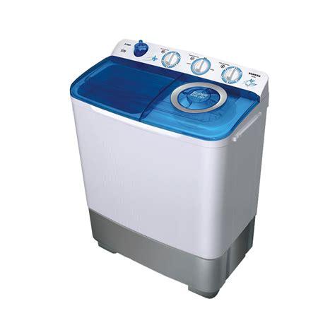 Mesin Cuci Otomatis Sanken jual sanken tw 882 mesin cuci 2 tabung transparan 7kg