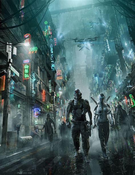 cyberpunk city concept environment sci fi concept art 676 best cyberpunk images on pinterest concept art