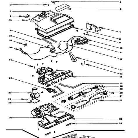 rainbow vacuum parts diagram rainbow power nozzle assembly
