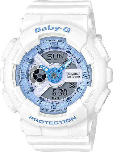 casio baby g putih ba 110 7a1dr best buy of best price