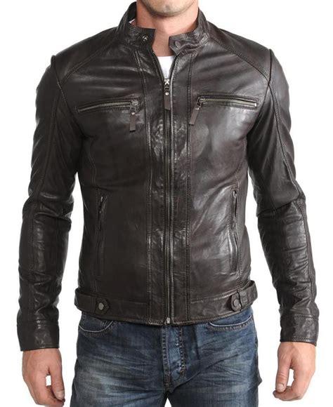 Guess Denim Brown Harga Sepasang leather jacket lambskin motorcycle stylish new
