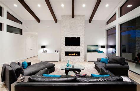 Modern Livingroom Ideas tv sopra il camino cosa sapere ed esempi pratici