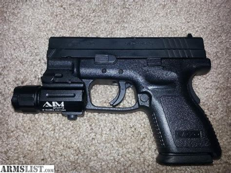 springfield xd tactical light armslist for sale springfield xd 40 cal sub compact