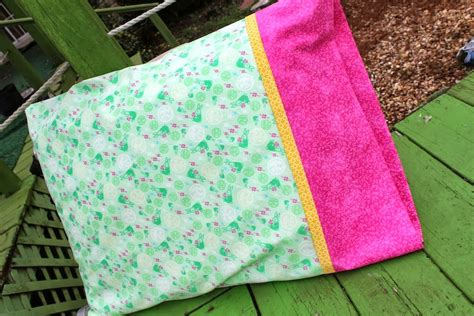 How To Make A Pillow Slip by Easy Pillowcase Diy Tutorial Crafty Gemini