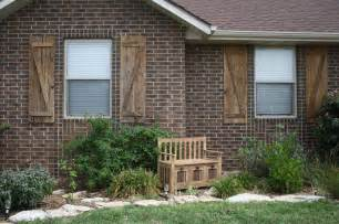 Exterior Wood Shutters Exterior Shutters Add Value And Increase The Appeal Of