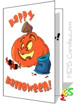 printable birthday cards halloween halloween cards or party invitations for free cute trick