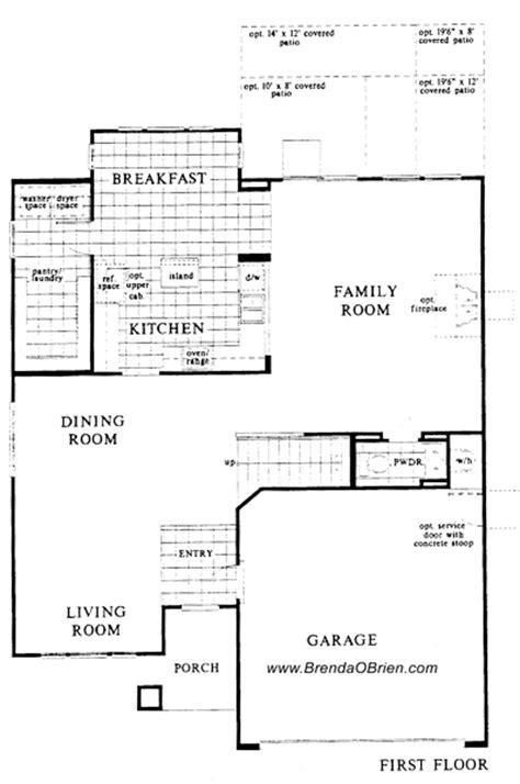 villages of la canada floor plan kb 2591 upstairs villages of la canada floor plan kb 2838 downstairs