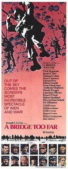 epic war film wiki a bridge too far film wikipedia