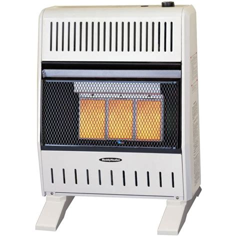 Gas Heaters For Home by Reddy Heater 18 000 20 000 Btu Infrared Dual Fuel Wall