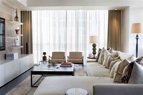 Modern Condo Living Room Design by Atlanta Buckhead Condo Interior Modern Living Room
