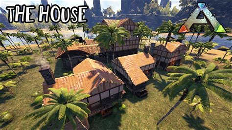 house designs construction plans the ark f1r3fly ark survival evolved building the house youtube