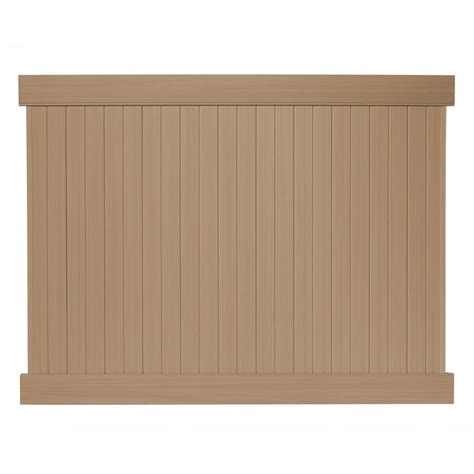 veranda linden 6 ft h x 8 ft w cypress vinyl privacy