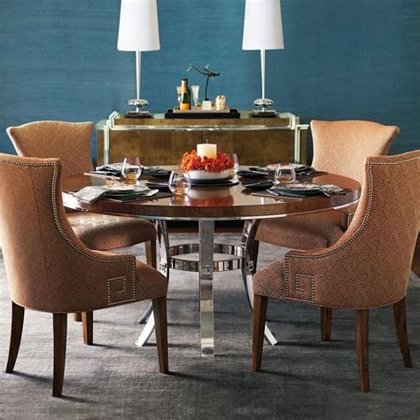 bernhardt soho luxe 60 quot dining table mathis bernhardt soho luxe 5 table and chair set adcock furniture dining 5 sets