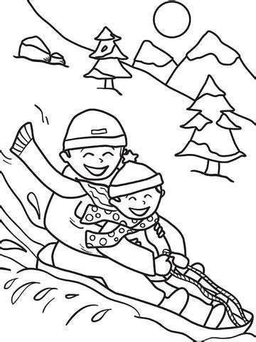 winter coloring pictures printable winter coloring pages