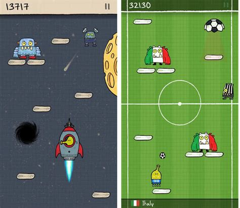 doodle jump football jar 9 highest grossing smartphone apps of all time