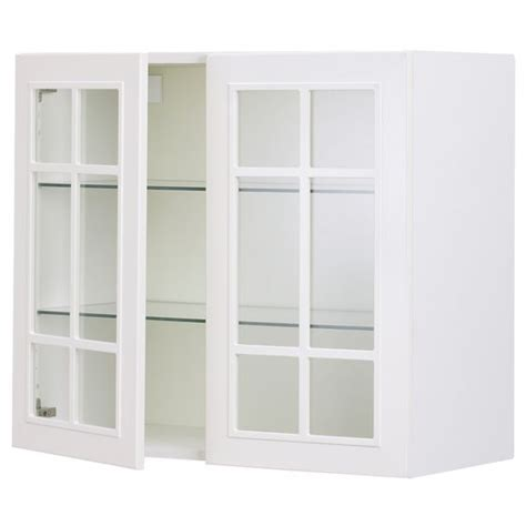 ikea wall cabinets kitchen 215 30 x 30 glass front wall cabinet akurum wall