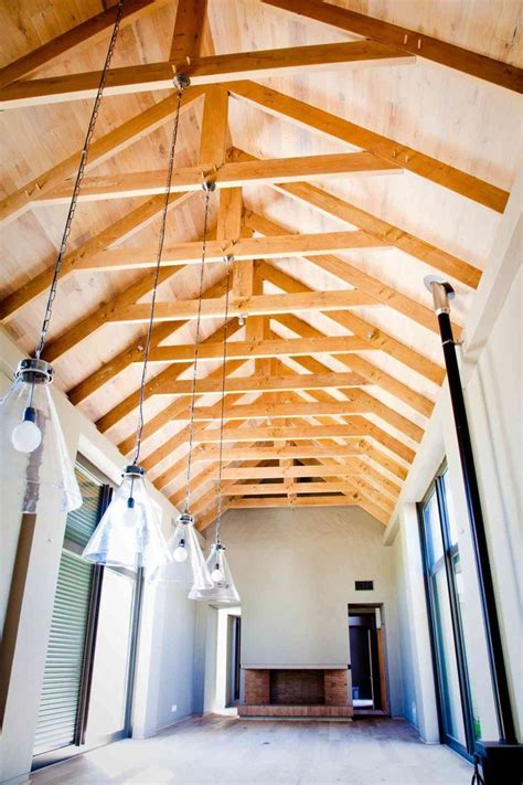 Best 25  Exposed rafters ideas on Pinterest   Teal ceiling