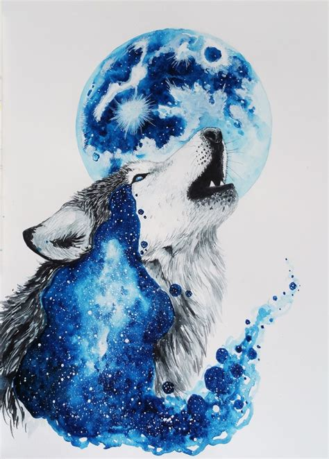 watercolor wolf tutorial 17 best ideas about watercolor wolf on pinterest wolf
