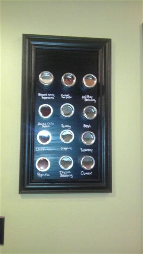 Lowes Spice Rack by Hanging Magnetic Spice Rack Sheet Metal From Lowes Frame