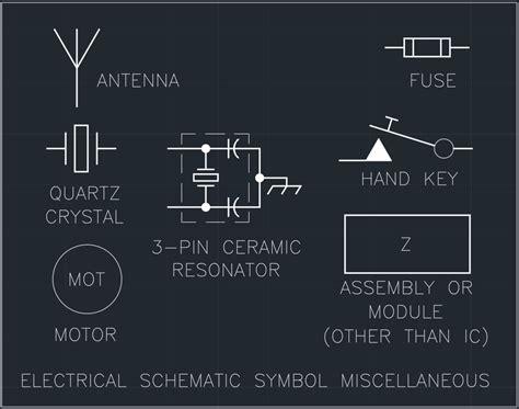 free autocad electrical schematic symbols efcaviation