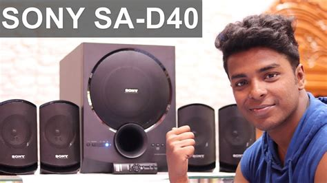 sony sa  home theater unboxing  review sound test