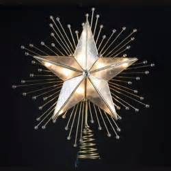lighted star tree topper on pinterest