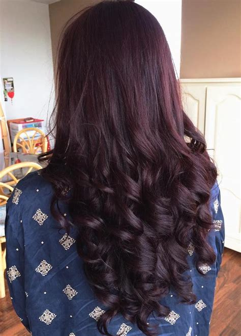 burgundy hair color pictures apexwallpapers purple maroon highlights brown hairs