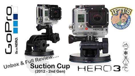 Gopro Second gopro 3 suction cup 1st vs 2nd unbox review