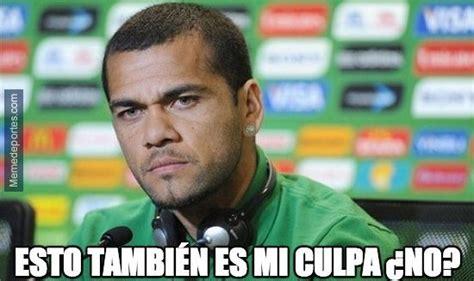 Dani Alves Meme - los memes de brasil vs alemania futbol sapiens