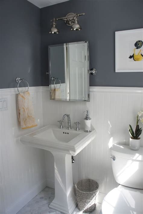 wainscoting in small bathroom bathroom cool small bathroom ideas with white beadboard