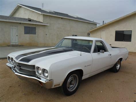 1970 el camino 1970 el camino 454 700r4 california car to drive