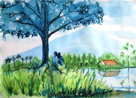 pameran seni rupa  lukisan drawing  sketch  taman