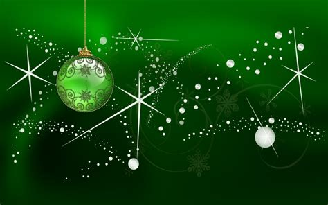 green xmas wallpaper green lights and balls xmas wallpaper hd wallpapers