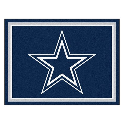 Dallas Cowboys Area Rug Dallas Cowboys 1 4 Quot Plush Area Rug 8 X 10