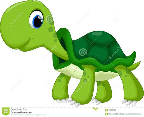 cartoon white cute turtle cartoon stock illustration image of adorable