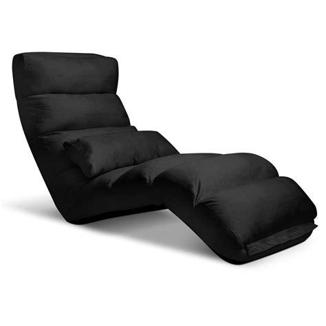 black sofa chair buy lounge sofa chair 75 adjustable angles black